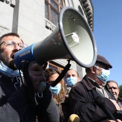 Протести в Армения