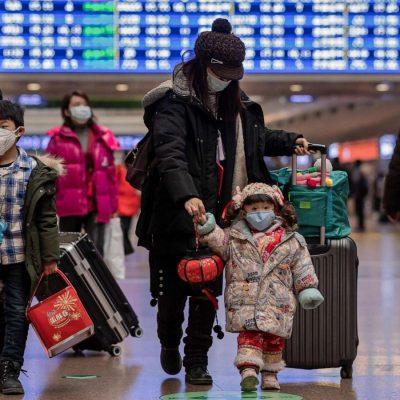 Носенето на маски в Китай