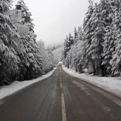 Сняг в северна България