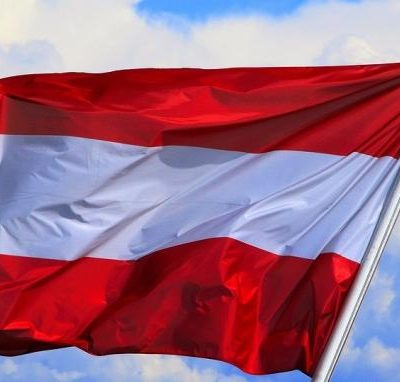 Флаг на Австрия