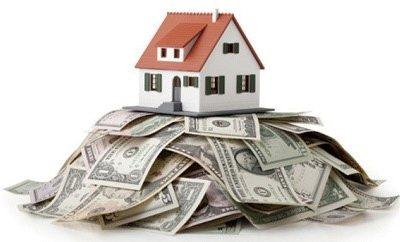 Къща върху пари