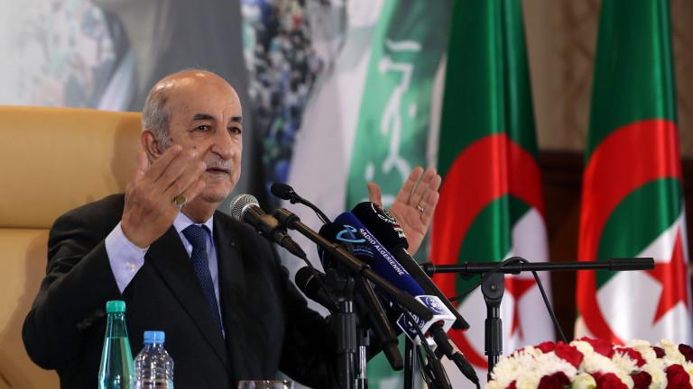 Президентът на Алжир