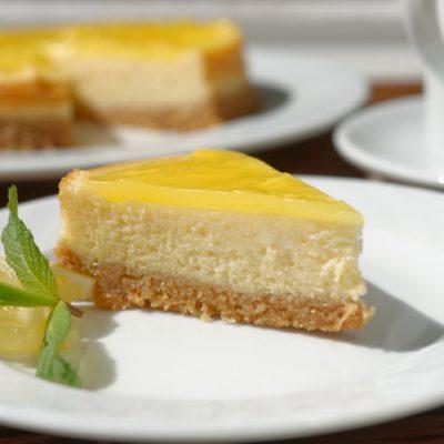 Рецепта за лимонов чийзкейк