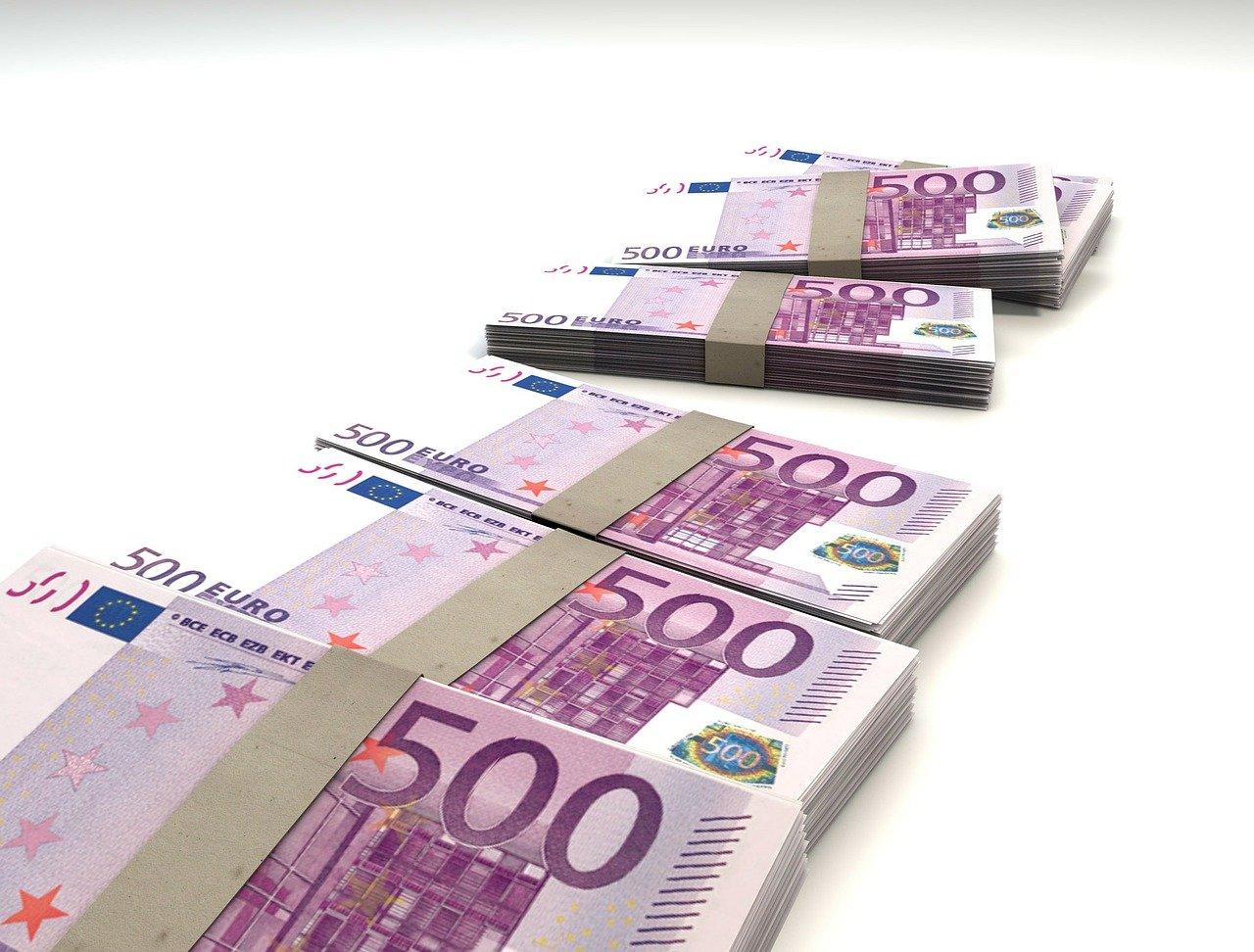 Евро банкноти