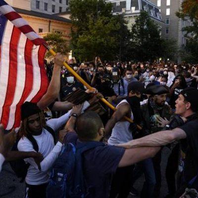 протест САЩ