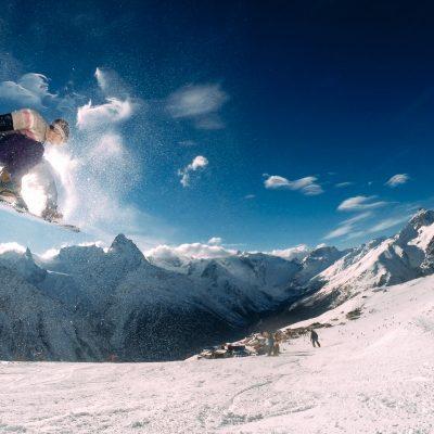 сняг и сноуборд