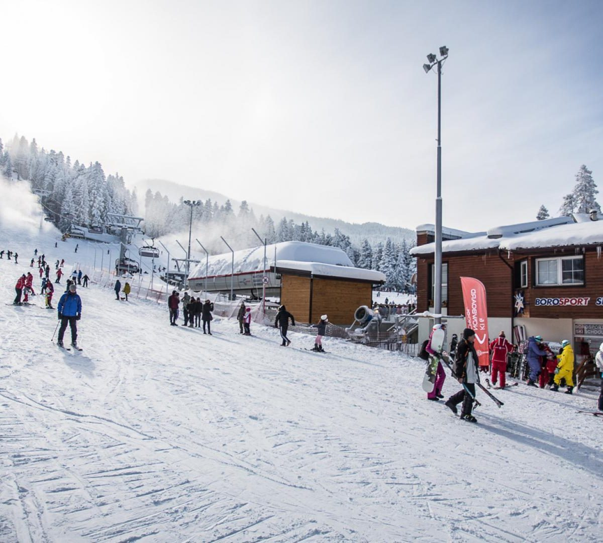 Ски пистите в Боровец