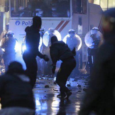 безредици в Брюксел