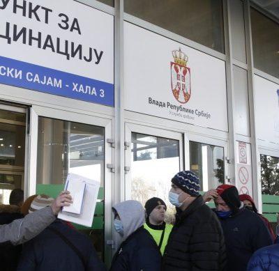 Ваксиниране в Сърбия