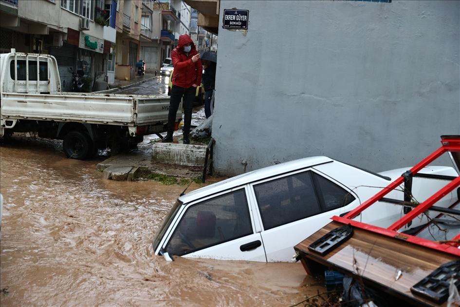 Наводнение в Турция