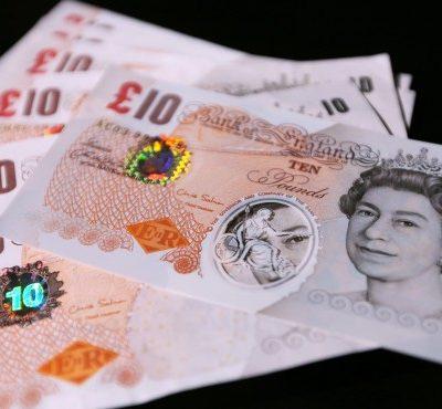 Банкноти от 10 британски паунда