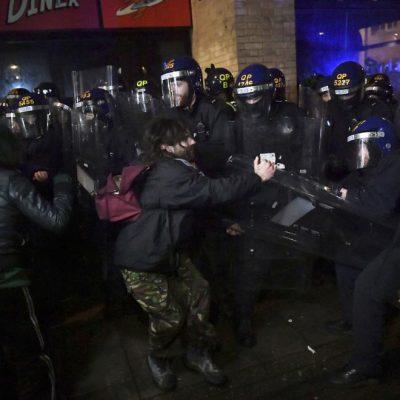 Протести в Бристол