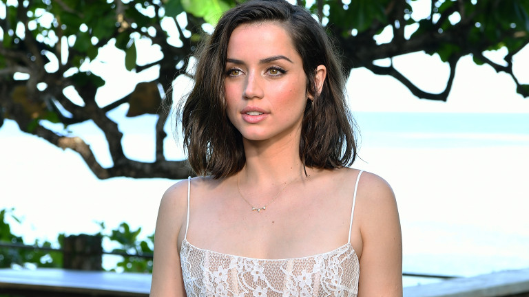 """MONTEGO BAY, JAMAICA - APRIL 25:  Cast member Ana de Armas attends the """"Bond 25"""" film launch at Ian Fleming's home """"GoldenEye"""" on April 25, 2019 in Montego Bay, Jamaica.  (Photo by Slaven Vlasic/Getty Images for Metro Goldwyn Mayer Pictures)"""