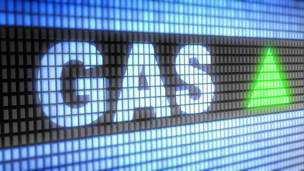 The Index of Gas. Up.